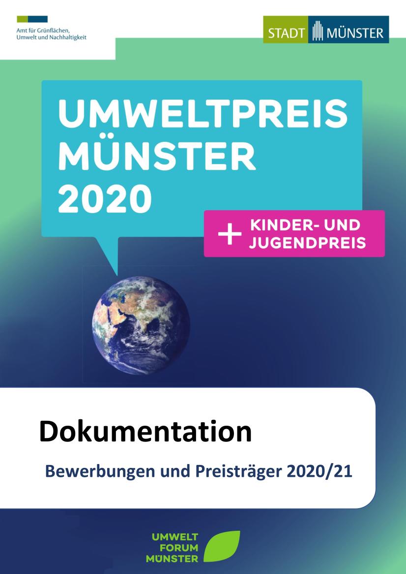 Dokumentation Umweltpreis 2020